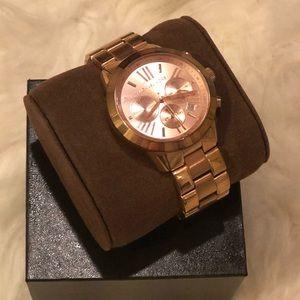 Micheal Kors Rose Gold Women's Watch